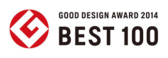 GOOD DESIGN AWARD 2014 BEST 100